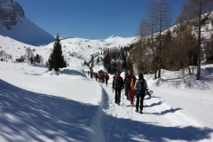 20 marzo 2016 - Ciaspolada in Val Veneggia