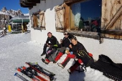 Escursione Ciaspe 5 Torri 27 gennaio 2018